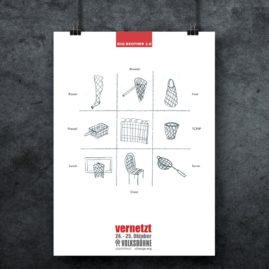 Plakat für Veranstaltung, Layout,