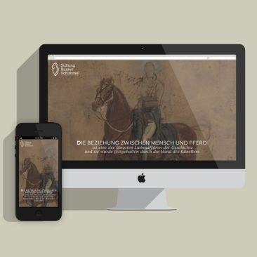 """Stiftung """"Bunter Schimmel"""", Webdesign,"""