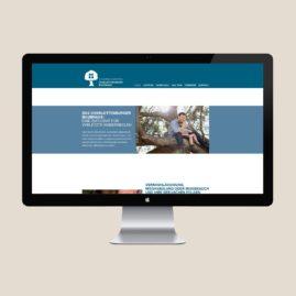 Webseite Baumhaus, Webdesign